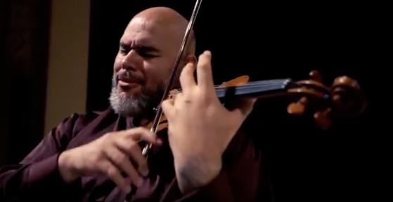Gianmaria-Melis-violinista-LE-GRAND-TANGO-Astor Piazzolla-Giuseppe-Gullotta-Piano